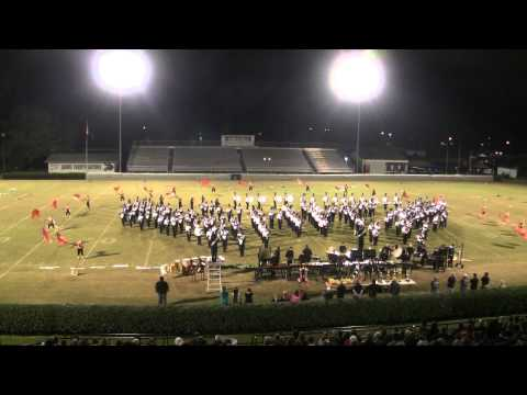 Houston County High School Marching Band - October 25, 2014 - Sound of Gold Competition