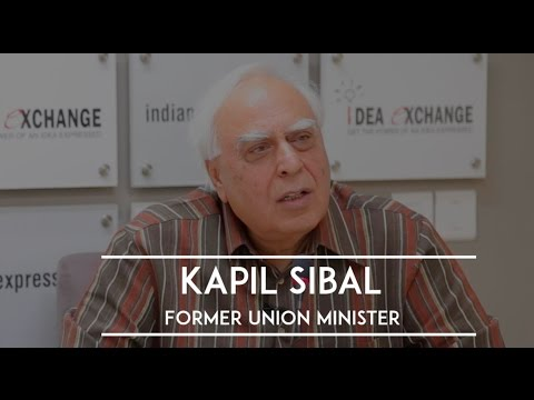 Idea Exchange With Kapil Sibal