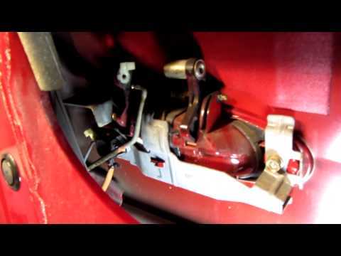 2003 Honda Accord driver door lock actuator replacement