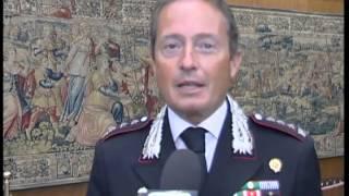 RAI TGR INTERVISTA COL MARCO TURCHI COMANDANTE CARABINIERI TUTELA DEL LAVORO - (13-06-2014)