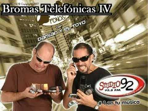 Damian y el Toyo - Bromas Telefonicas IV