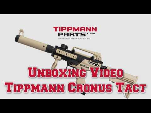 Tippmann Cronus Tactical Paintball Gun Unboxing