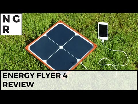 Energy Flyer review - a solar charger that actually works! - NextGenTutorials
