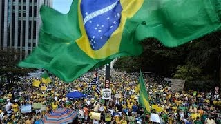 Brazilian Protesters Call for Ouster of President