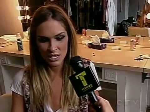 2008/12/07 CTV: Behind the scenes at Erin Wasson's shoot