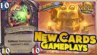 Hearthstone - NEW CARDS GAMEPLAYS KOBOLDS & CATACOMBS - WTF Funny and Lucky Moments