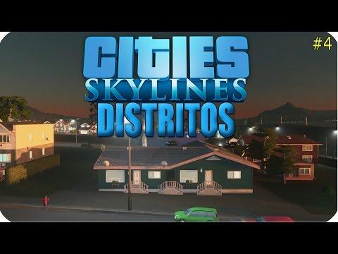 ► DISTRITOS - EP4 🎮 Cities Skylines