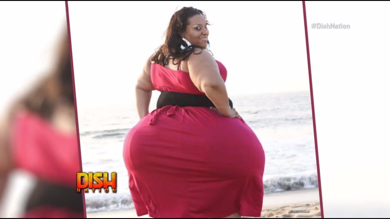mature female buttocks