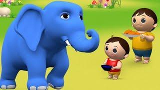 Hathi Raja Kahan Chale - Hindi Rhymes | हाथी राजा कहाँ चले | Hindi Balgeet Nursery Rhymes for Kids