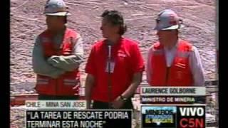 Thumb El RESCATE de los 33 mineros PODRÍA TERMINAR ESTA NOCHE (Miércoles)