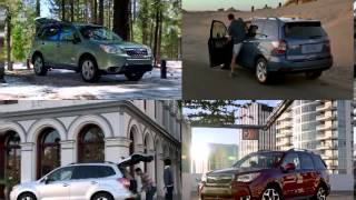 SUBARU FORESTER 2014 first ads in USA