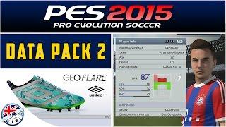 [TTB] PES 2015 - DLC Update - Data Pack 2 - New Faces & More!