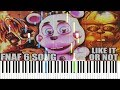 Like it or not fnaf 6 song dawko cg5 synthesia piano tutorial mp3