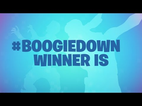 #boogiedown CONTEST WINNERS ANNOUNCED