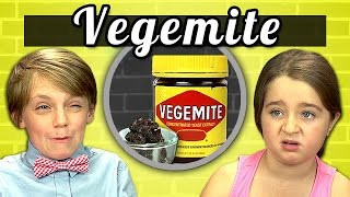 KIDS vs. FOOD #2 - VEGEMITE