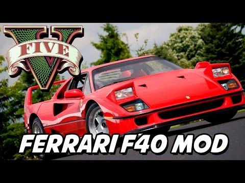 GTA V – Ferrari F40 MOD