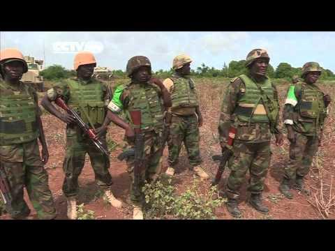 AU & Somalia Troops Battle Al Shabaab