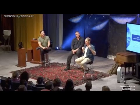 David Wilcock, Corey Goode, & Emery Smith At Dimensions Of Disclosure
