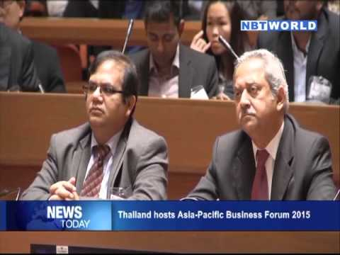 Thailand hosts Asia Pacific Business Forum 2015