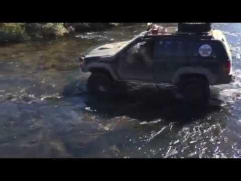 Travessia de rio Canyons Gauchos
