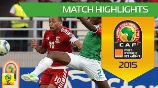 Can 2015 | Poule A - Guinée Equatoriale 0-0 Burkina Faso