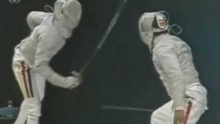 Olympia 2000: Bronze for German Sabre Team with Willi.wmv