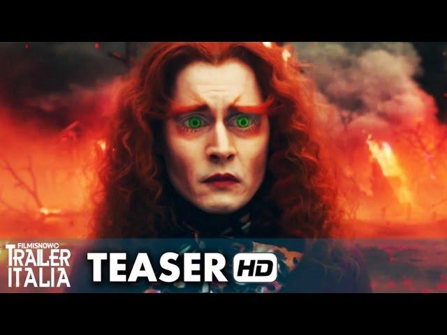 Alice attraverso lo specchio Teaser Trailer Italiano Ufficiale (2016) Johnny Depp [HD]