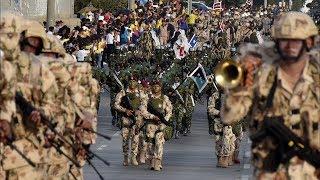 Así fue el desfile militar del 20 de Julio en Barranquilla