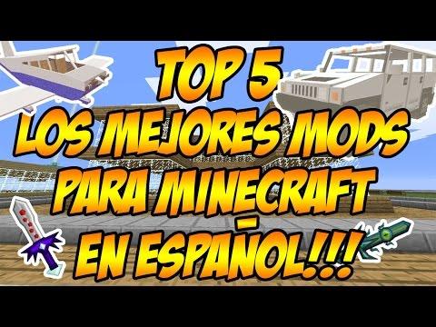 TOP5: LOS MEJORES MODS PARA MINECRAFT 1.7.2 y 1.7.10