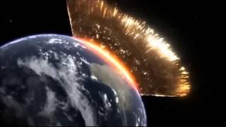 Simulação de um Meteoro caindo na Terra