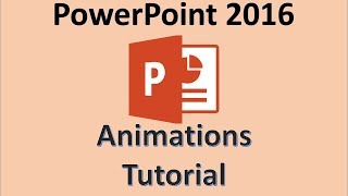 PowerPoint 2016 - Animation Slide Tutorial - How to Animate Slides - Make Transitions Within a Slide