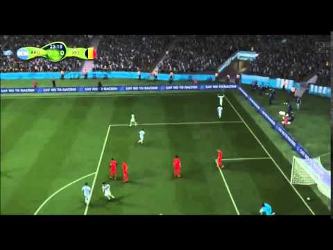 Argentina vs Belgium 2014 - World Cup 2014 Full Match Goals & Highlights  [FIFA 14 SIMULATION]