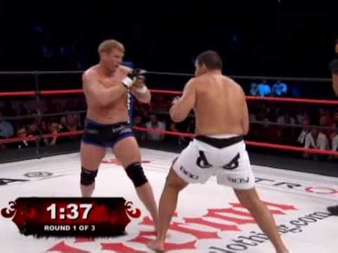 Josh Barnett vs Pedro Rizzo 2 Affliction Banned Video
