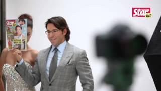 Андрей Малахов возьми съемках рекламного ролика