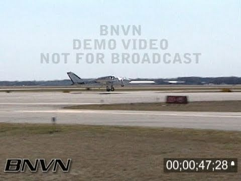 3/20/2004 Cessna 310 Plane Crash Video