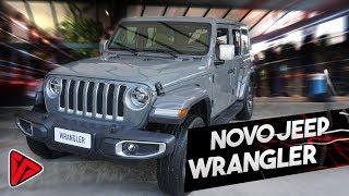 Avaliação Jeep Wrangler Sahara 2.0 turbo de 270cv (nova geração)   Top Speed