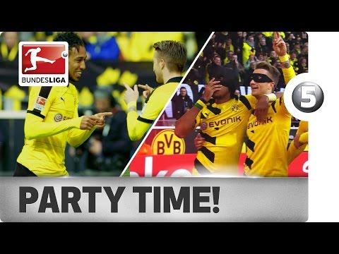 Pierre-Emerick Aubameyang - Top 5 Goal Celebrations