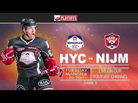 GAME 3 HYC vs NIJMEGEN DEVILS