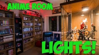 Anime Room Tour [PART TWO] - Let there Be Light!