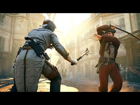 Assassin's Creed Unity Catacomb Raider Rampage with Master Arno