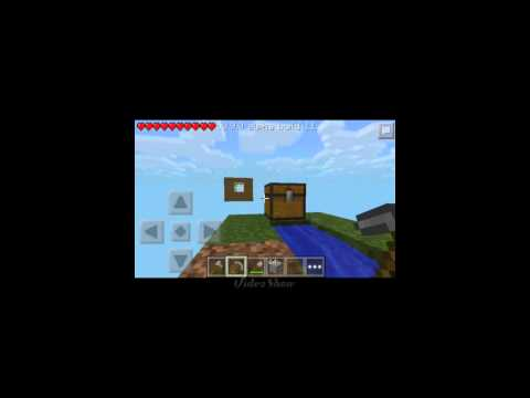 MCPE 9.0 SkyBlock Survival map