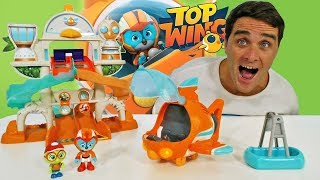 Top Wing Swifts Flash Wing Rescue ! || Toy Review || Konas2002