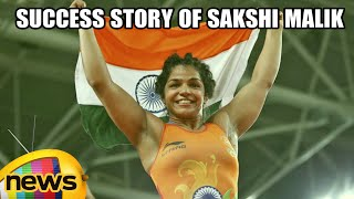 Sakshi Malik Inspiring Story To Rio Olympics | First Indian Woman Wrestler To Win Olympic Medal