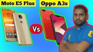 Moto E5 Plus Vs Oppo A3s (2018) Full comparison    Best For You, [ in hindi  ]