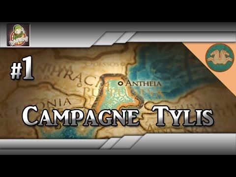 ♠ CAMPAGNE TYLIS + NOUVELLE INTRO !   Ep.1 - Déjà en guerre contre la Macédoine ! ♠ thumbnail
