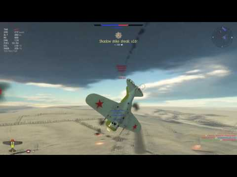 I-16 Type 28 Gameplay - [War Thunder]