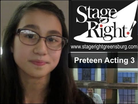 Preteen Acting Class: TV Commercials 3 (Stage Right! Greensburg)