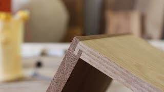 How to Make a Half Blind Lock Joint