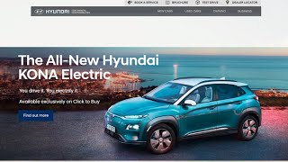 Buying a Hyundai Kona EV Online | The Future of Car Sales?
