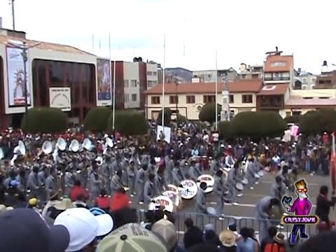 Banda Union Majestad 3/3 -.- Retreta de bandas Puno 2014